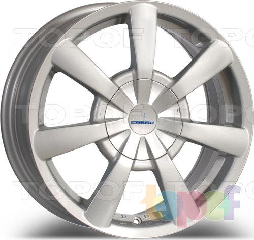 Колесные диски Devino DV 452. Цвет: Silver