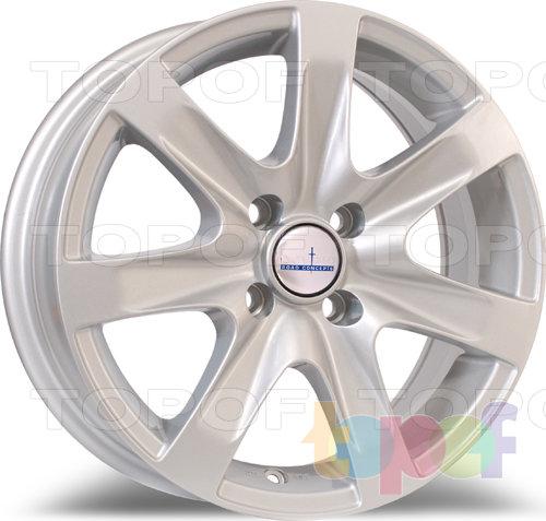 Колесные диски Devino DV 641. Цвет: серебро