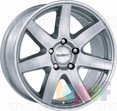 Колесные диски Dezent B. Изображение модели #1
