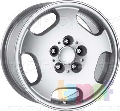 Колесные диски Dezent H. Изображение модели #1