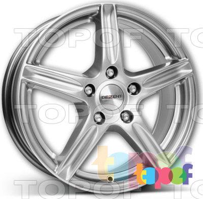 Колесные диски Dezent L. Изображение модели #2