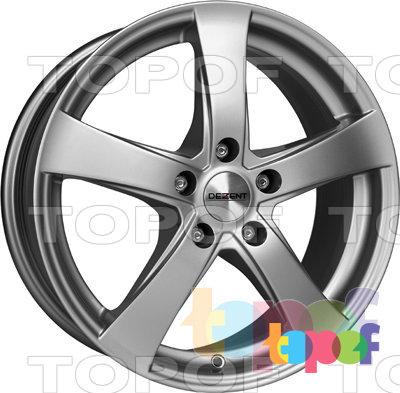 Колесные диски Dezent RE. Изображение модели #1