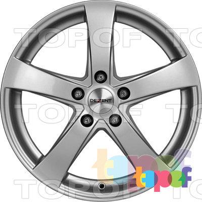 Колесные диски Dezent RE. Изображение модели #2