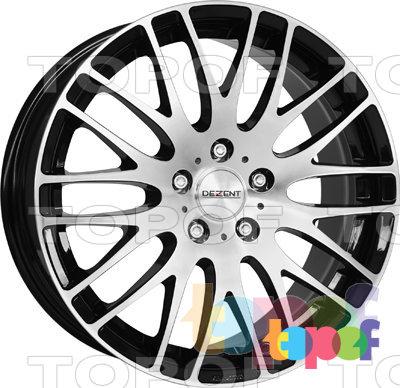 Колесные диски Dezent RG dark. Изображение модели #1