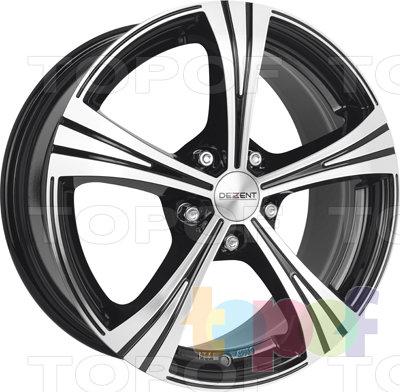 Колесные диски Dezent RI dark. Изображение модели #1