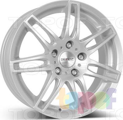 Колесные диски Dezent RK. Изображение модели #1