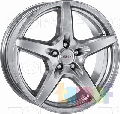 Колесные диски Dezent T. Изображение модели #1