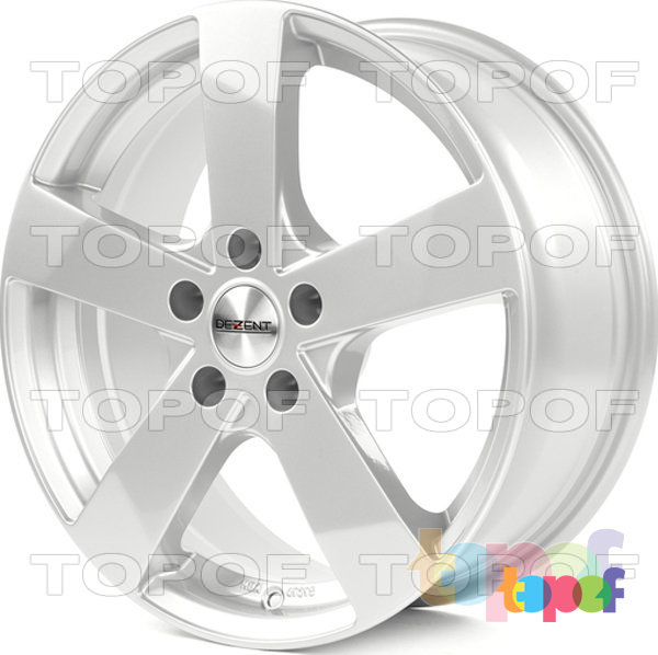 Колесные диски Dezent TD. серебро
