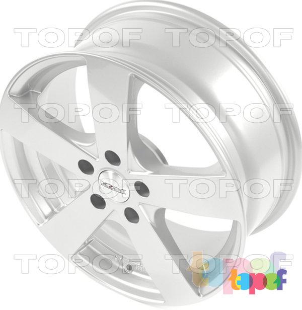 Колесные диски Dezent TD. серебряный
