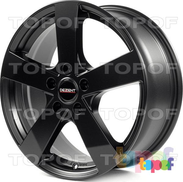 Колесные диски Dezent TD. черный