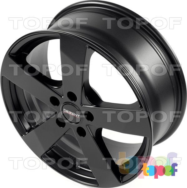 Колесные диски Dezent TD. матовый черный