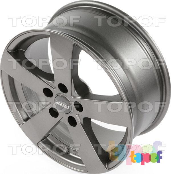 Колесные диски Dezent TD. матовый графитовый