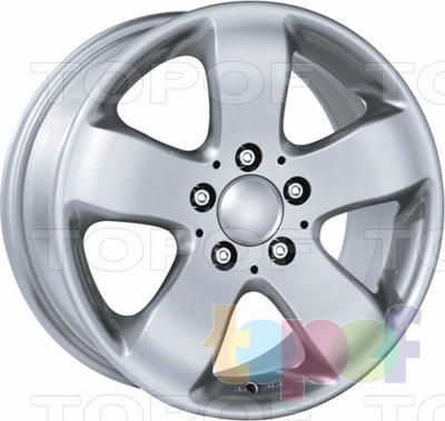 Колесные диски Dezent W. Изображение модели #1