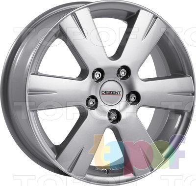 Колесные диски Dezent Y. Изображение модели #1