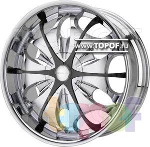 Колесные диски Diablo Teardrop. Изображение модели #1