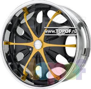 Колесные диски Diablo Teardrop. Изображение модели #2