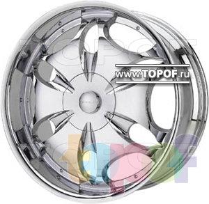 Колесные диски Diablo Teardrop (хром)