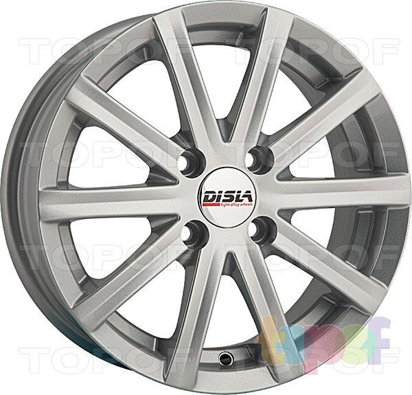 Колесные диски Disla Baretta. Цвет - серебро