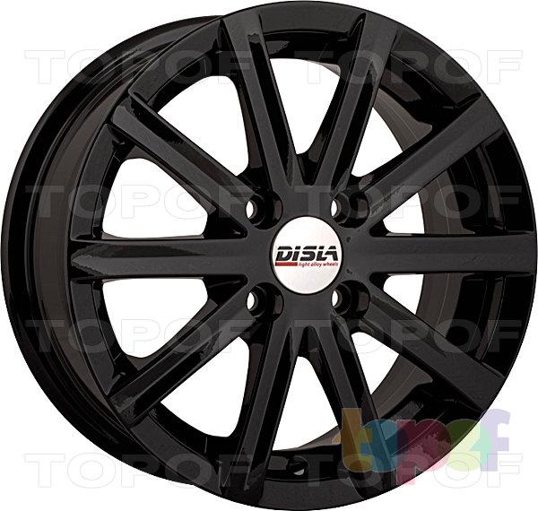 Колесные диски Disla Baretta. Цвет - черный матовый