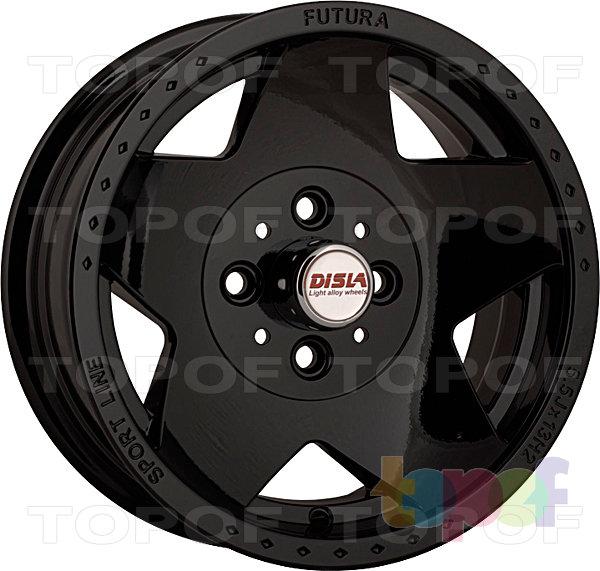 Колесные диски Disla Futura. Цвет - черный матовый