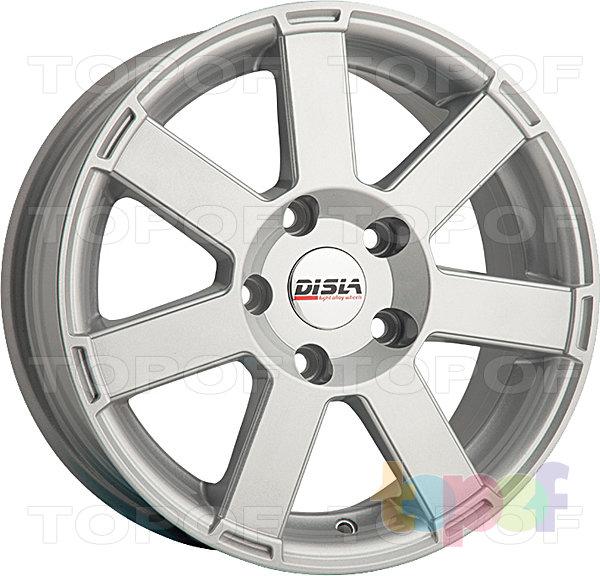 Колесные диски Disla Hornet. Цвет - Silver Diamond
