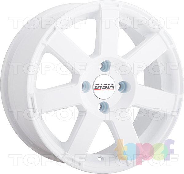 Колесные диски Disla Hornet. Цвет - белый