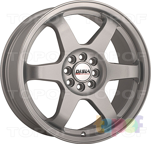 Колесные диски Disla JDM. Цвет - серебро