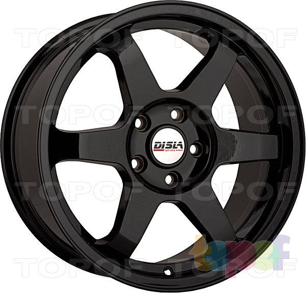 Колесные диски Disla JDM. Цвет - черный матовый