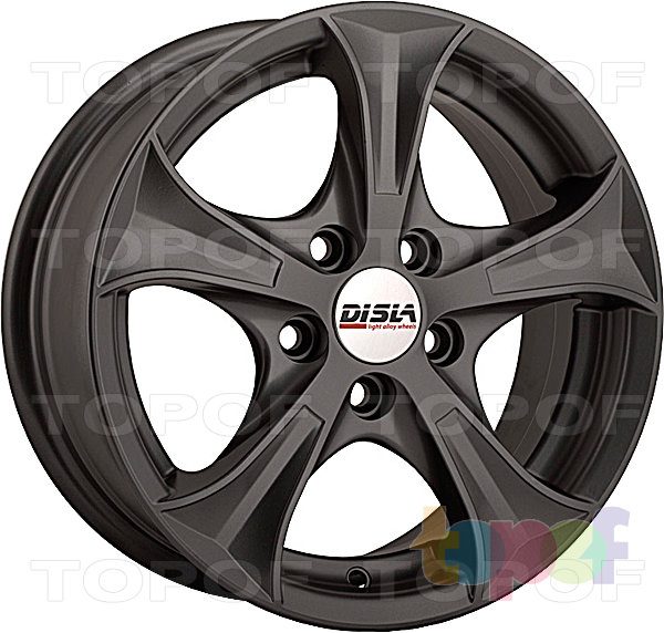 Колесные диски Disla Luxury. Цвет - Gun Metal