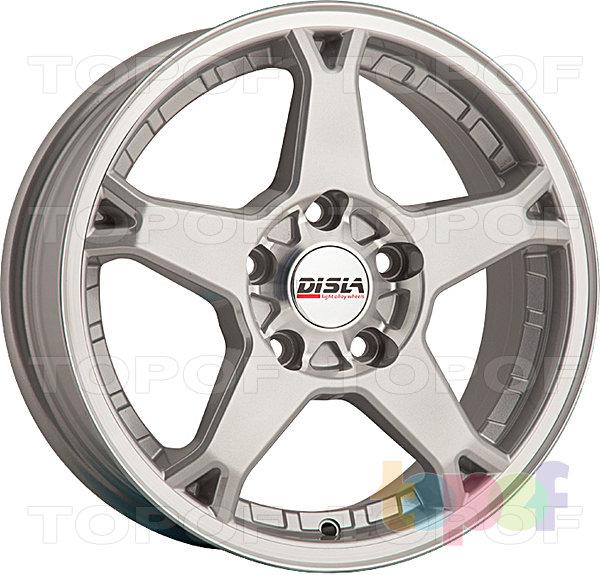 Колесные диски Disla Rapide. Цвет - Silver Diamond