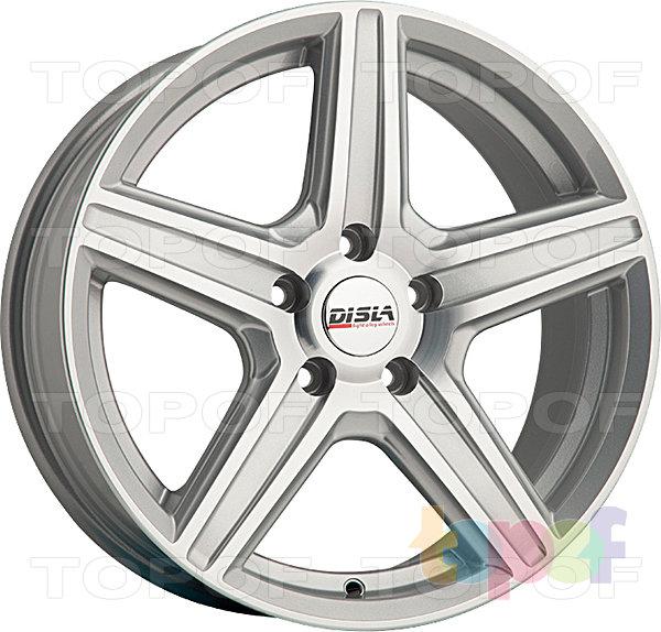 Колесные диски Disla Scorpio. Цвет - Silver Diamond