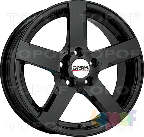Колесные диски Disla Tornado. Цвет - черный матовый