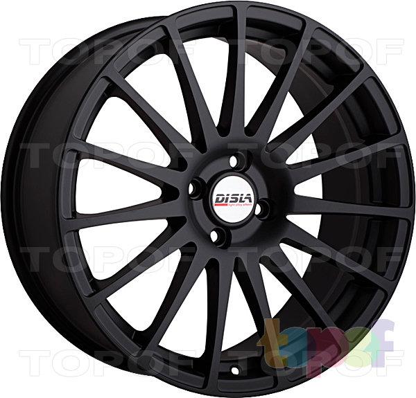 Колесные диски Disla Turismo. Цвет - черный матовый
