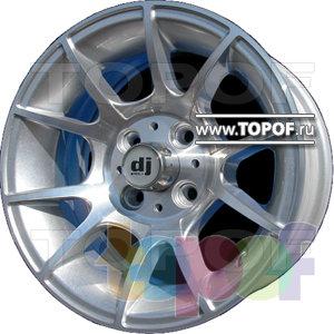 Колесные диски DJ DJ-305. Изображение модели #1