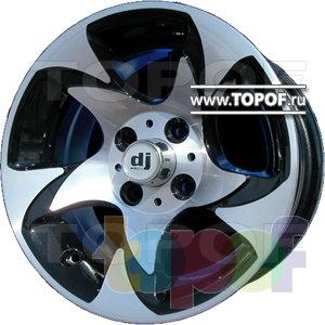 Колесные диски DJ DJ-341. Изображение модели #1
