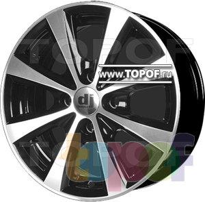 Колесные диски DJ DJ-350. Изображение модели #2