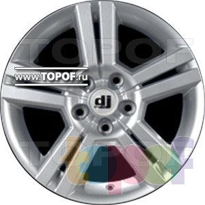 Колесные диски DJ DJ-385. Изображение модели #1