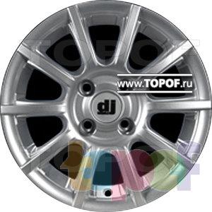 Колесные диски DJ DJ-386. Изображение модели #1
