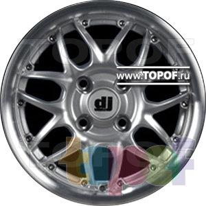 Колесные диски DJ DJ-390. Изображение модели #1