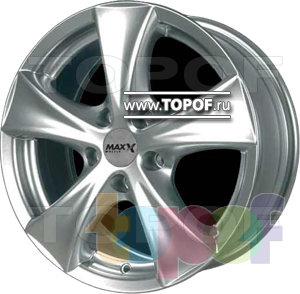 Колесные диски DJ DJ-391 (Max-x). Изображение модели #1