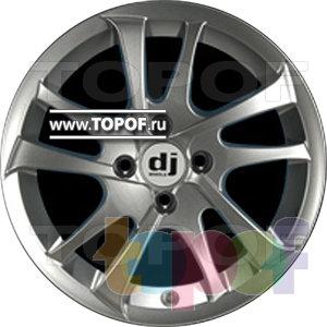 Колесные диски DJ DJ-395. Изображение модели #1