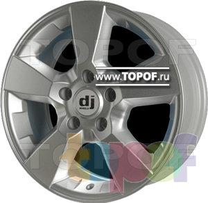 Колесные диски DJ DJ-397. Изображение модели #1