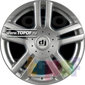 Колесные диски DJ DJ-398. Изображение модели #1