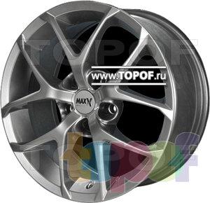 Колесные диски DJ DJ-404 (Max-x). Изображение модели #1