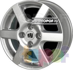 Колесные диски DJ DJ-411. Изображение модели #1