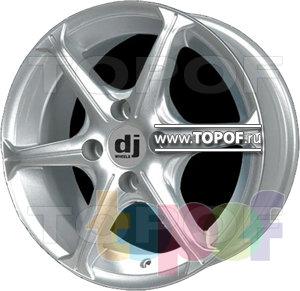 Колесные диски DJ DJ-412. Изображение модели #1