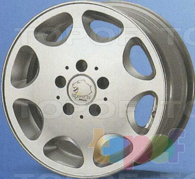 Колесные диски DOTZ Classic. Изображение модели #1