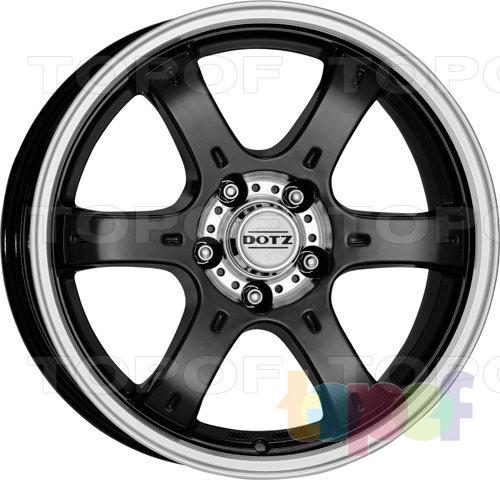 Колесные диски DOTZ Crunch. Изображение модели #1