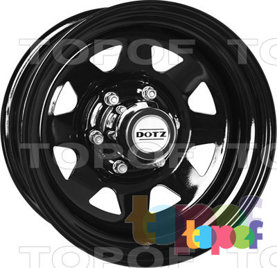 Колесные диски DOTZ Dakar. Изображение модели #3