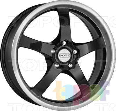 Колесные диски DOTZ Daytona Dark. Изображение модели #1